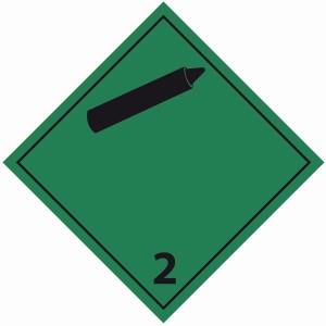 ADR 2 niet brandbare niet giftige gassen
