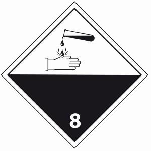 ADR 8 corosieve stoffen