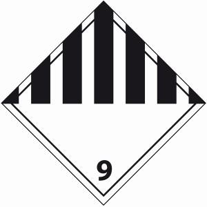 ADR 9 diverse gevaarlijke stoffen